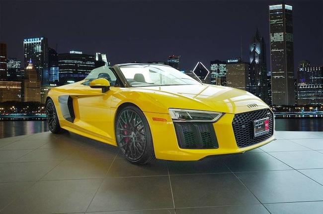 New 2018 Audi R8 5.2 V10 Spyder For Sale in Chicago, IL