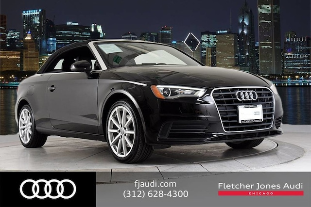 2015 Audi A3 Certified 1.8T Cabriolet Cabriolet For Sale in Chicago, IL
