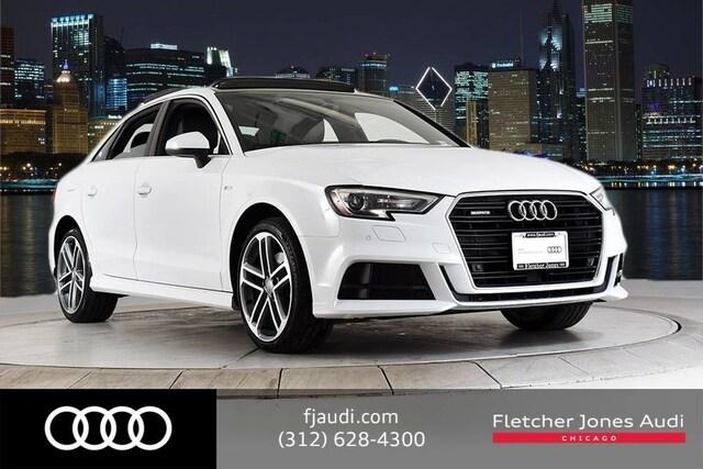 2018 Audi A3 Certified Premium Plus Sedan For Sale in Chicago, IL