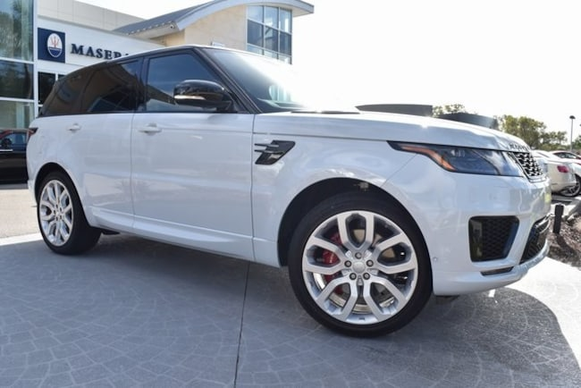 2019 Land Rover Range Rover Sport Supercharged SUV