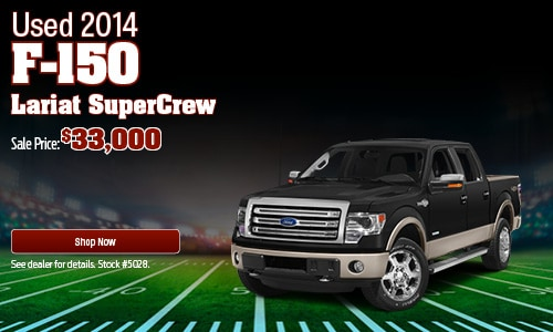 Used 2014 F-150 Lariat SuperCrew