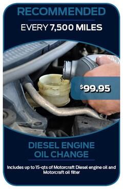 Diesel Oil Change 8/30/2019