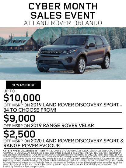Lease Specials Near Me >> Specials On Land Rover Cars Land Rover Near Me