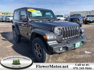 New 2019 Jeep Wrangler SPORT S 4X4 Sport Utility in Montrose, CO