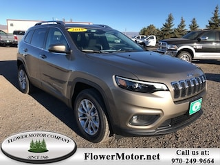 New 2019 Jeep Cherokee LATITUDE 4X4 Sport Utility in Montrose, CO