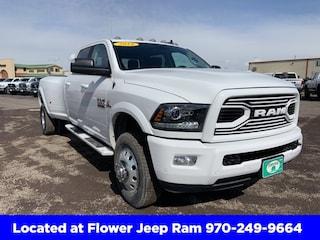 New 2018 Ram 3500 LARAMIE CREW CAB 4X4 8' BOX Crew Cab in Montrose, CO