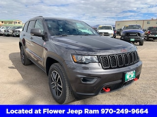 New 2019 Jeep Grand Cherokee TRAILHAWK 4X4 Sport Utility in Montrose, CO