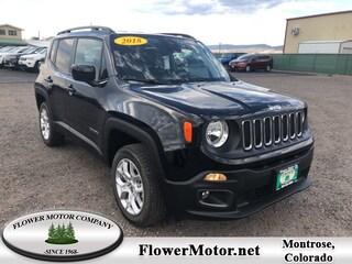 New 2018 Jeep Renegade LATITUDE 4X4 Sport Utility in Montrose, CO