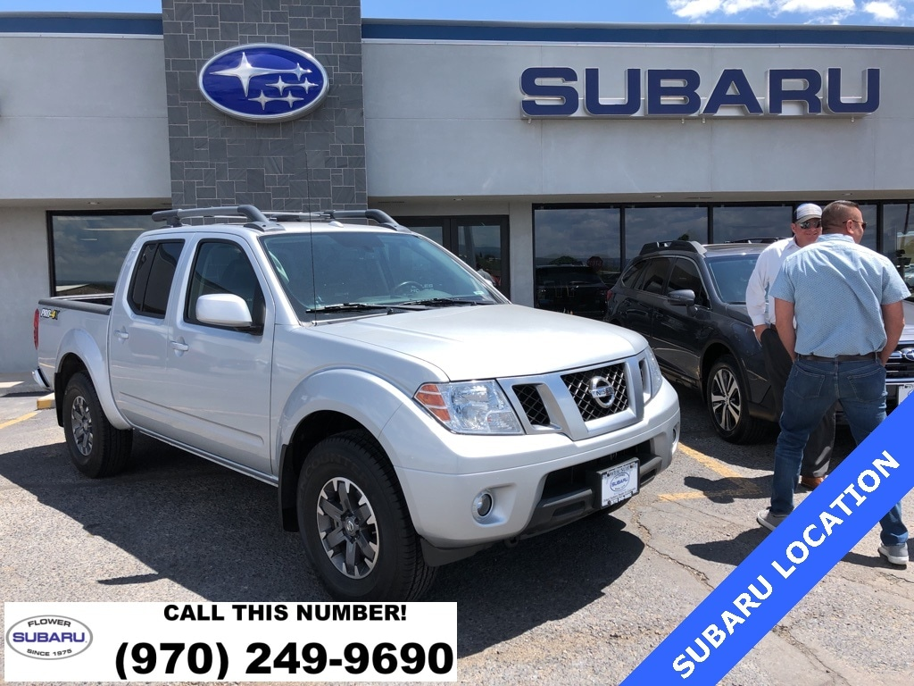 Featured Used 2017 Nissan Frontier PRO-4X Truck Crew Cab 61509A for sale in Montrose, CO