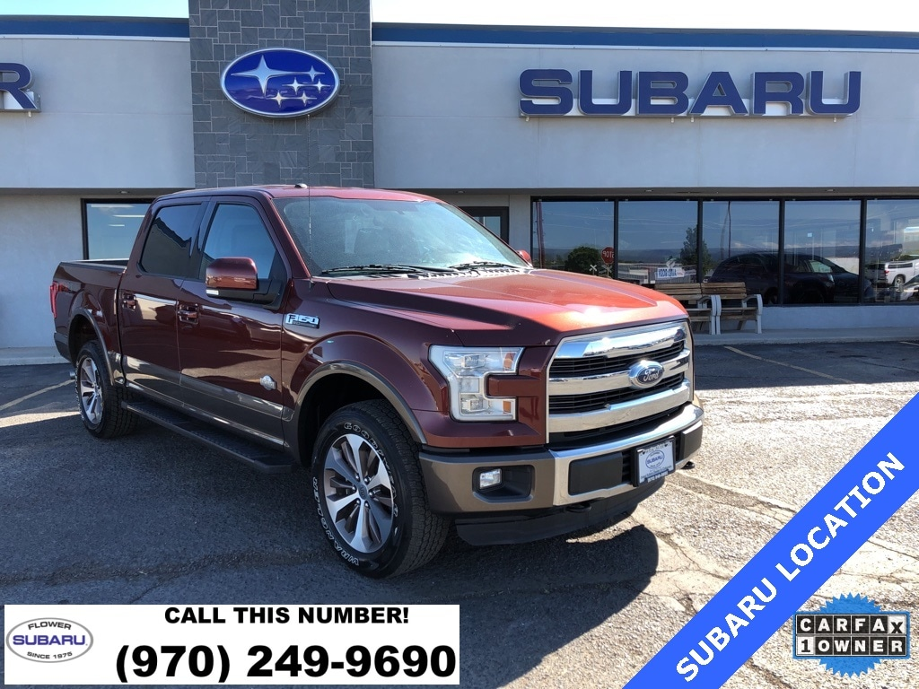 Featured Used 2016 Ford F-150 King Ranch FX4 Truck SuperCrew Cab 61504 for sale in Montrose, CO