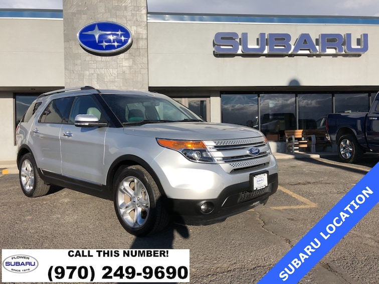 2015 Ford Explorer Limited SUV 519129B