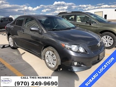 Used 2009 Toyota Corolla S Sedan 519229A under $10,000 for Sale in Montrose
