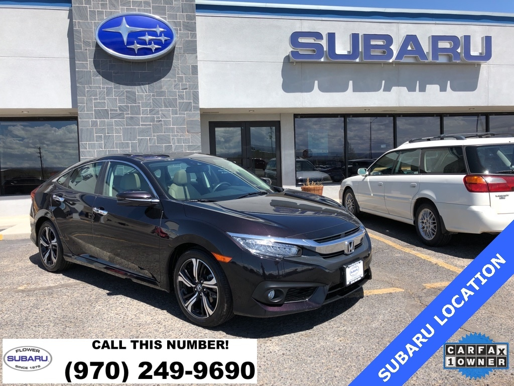 Featured Used 2017 Honda Civic Touring Sedan 61454 for sale in Montrose, CO