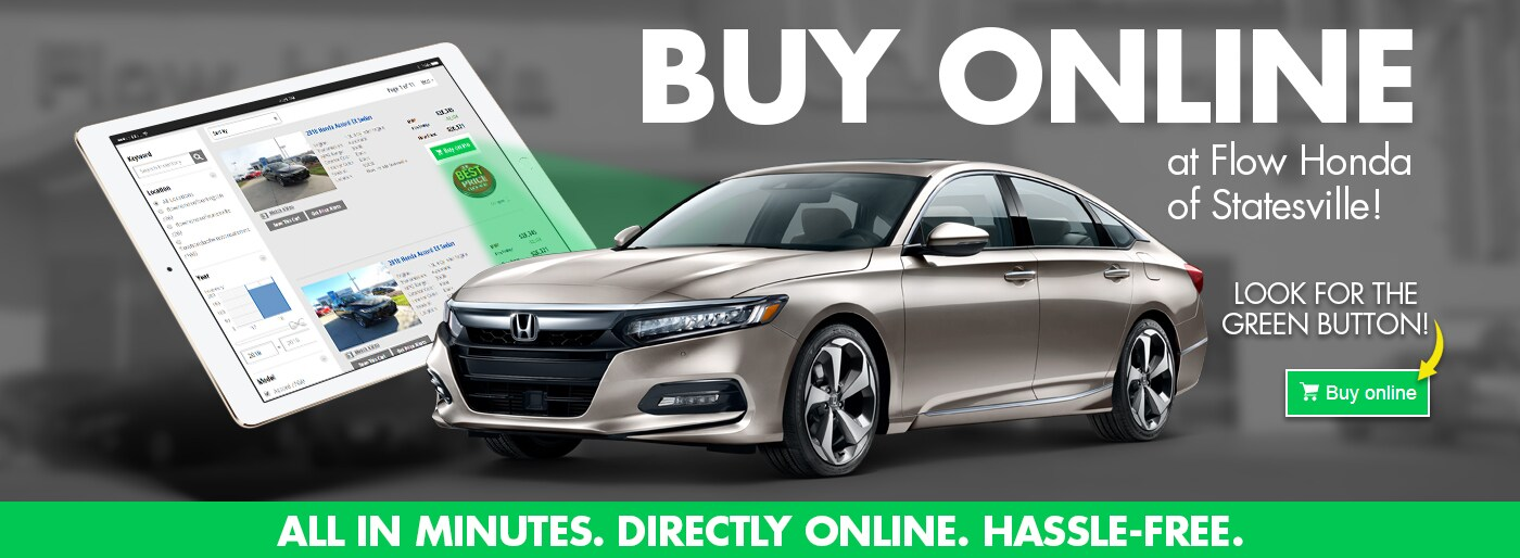 Buy Online At Flow Honda Statesville