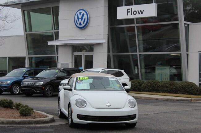 2015 Volkswagen Beetle Convertible 1.8T w/PZEV Convertible