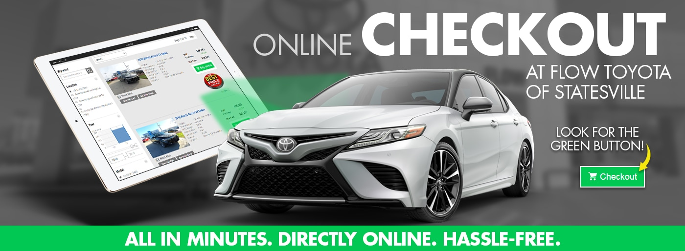 Attractive Checkout Online At Flow Toyota Statesville