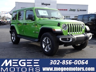 New 2019 Jeep Wrangler UNLIMITED SAHARA 4X4 Sport Utility Georgetown DE