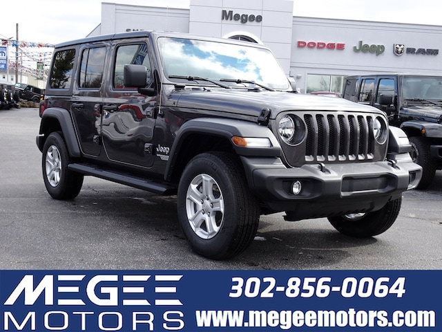 29251532 New 2019 Jeep Wrangler UNLIMITED SPORT S 4X4 For Sale in ...