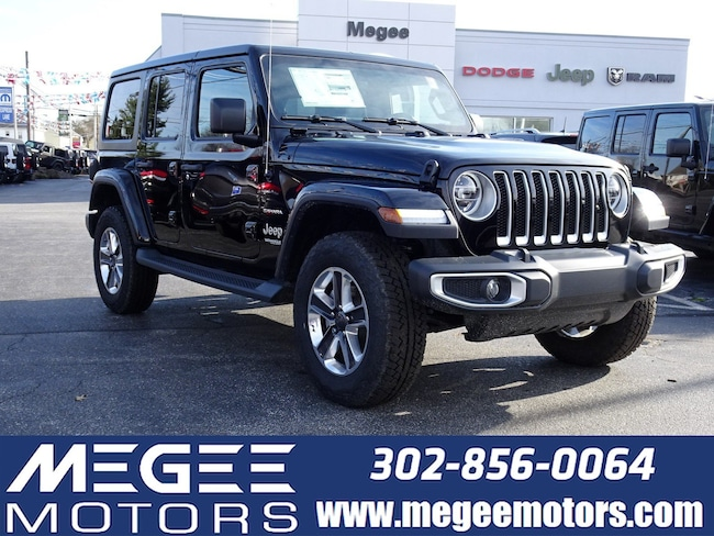 New 2019 Jeep Wrangler UNLIMITED SAHARA 4X4 Sport Utility Georgetown