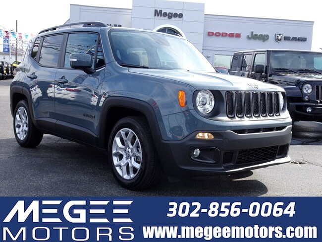 Used 2017 Jeep Renegade Altitude FWD SUV Georgetown