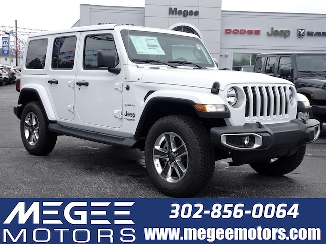New 2018 Jeep Wrangler UNLIMITED SAHARA 4X4 Sport Utility Georgetown