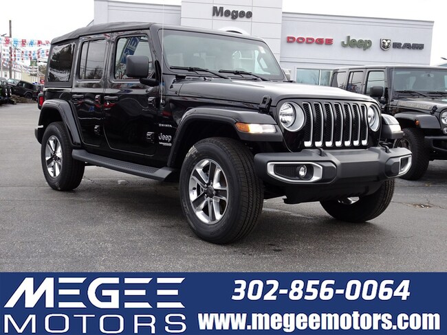 New 2019 Jeep Wrangler Unlimited UNLIMITED SAHARA 4X4 Sport Utility Georgetown