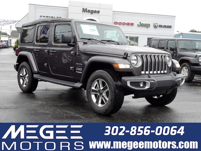 New 2018 Jeep Wrangler Unlimited UNLIMITED SAHARA 4X4 Sport Utility Georgetown