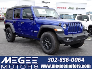 New 2018 Jeep Wrangler UNLIMITED SPORT 4X4 Sport Utility Georgetown DE