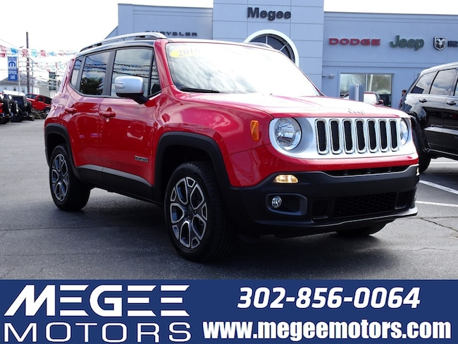2016 Jeep Renegade Limited Limited 4WD