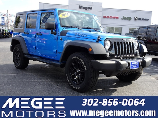 Used 2014 Jeep Wrangler Willys Wheeler 4WD 4DR Georgetown