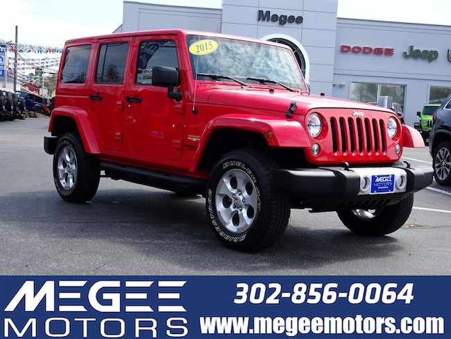 Used 2015 Jeep Wrangler Unlimited Sahara 4WD 4dr Georgetown
