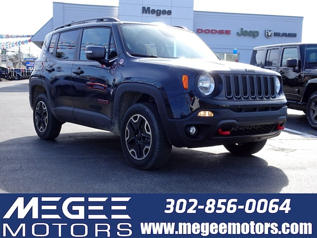 Used 2017 Jeep Renegade Trailhawk 4WD SUV Georgetown