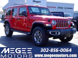 New 2018 Jeep Wrangler UNLIMITED SAHARA 4X4 Sport Utility Georgetown DE