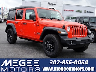 Used 2018 Jeep Wrangler Unlimited Sport Sport 4x4 Georgetown DE