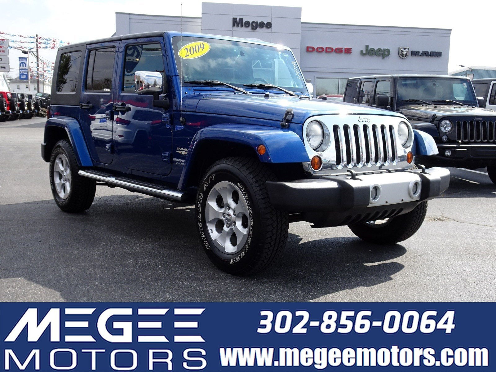 38fe4730736 Used 2009 Jeep Wrangler Unlimited Sahara in Georgetown in Sussex ...