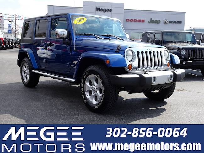 Used 2009 Jeep Wrangler Unlimited Sahara 4WD 4DR Georgetown