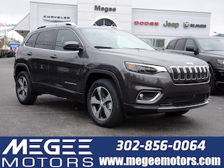 New 2019 Jeep Cherokee LIMITED 4X4 Sport Utility Georgetown DE