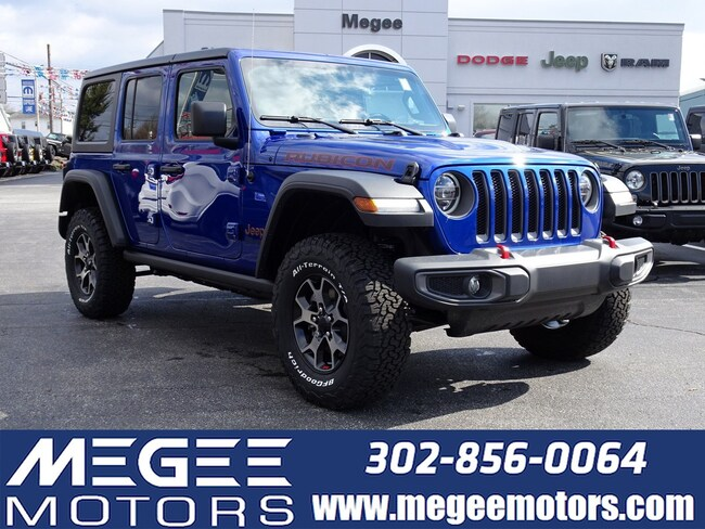 New 2019 Jeep Wrangler UNLIMITED RUBICON 4X4 Sport Utility Georgetown