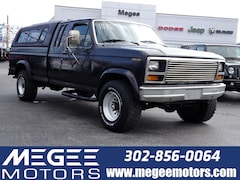 1986 Ford F250 Pickup Extended cab 4WD Truck