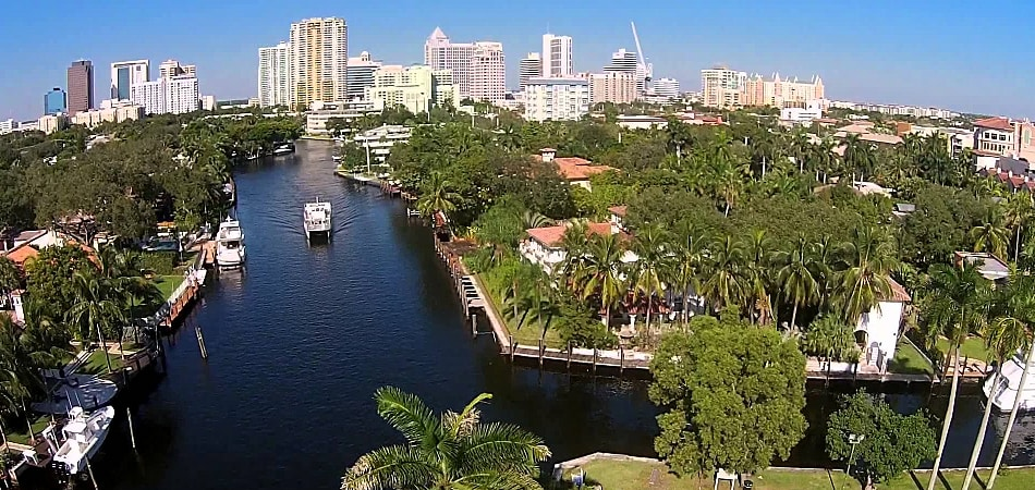 Scenic view of Fort Lauderdale, FL