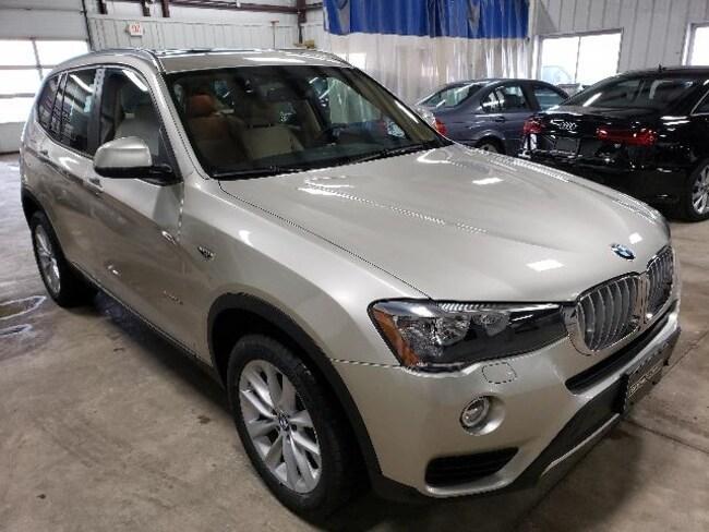 2017 BMW X3 Xdrive28i Sports Activity Vehicle Sport Utility
