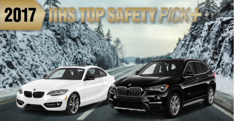2017 BMW X1 And 2017 BMW 2 Series Earn IIHS U201cTop Safety Picku201d.