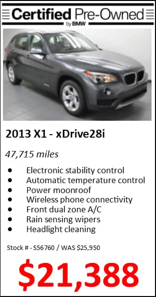 Certified Pre-Owned Sales Event | Flynn BMW
