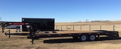 2016 Double A *CLEARANCE* 26' Excel Gooseneck 2-7000# Axles -