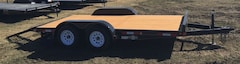 2017 Double A 14' Excel Car Hauler 2-3500# Axles ECH77-14 -