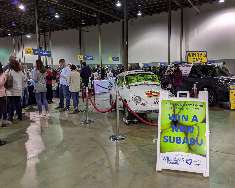 Williams Subaru car giveaway at QCBF 2020