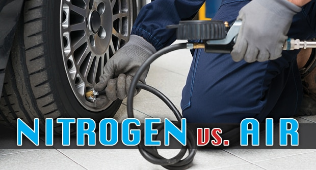 Nitrogen Vs Air in your Car's Tires