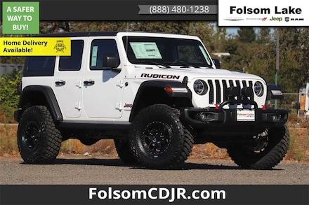 2021 Jeep Wrangler UNLIMITED RUBICON 4X4 Sport Utility 1C4HJXFN8MW507145