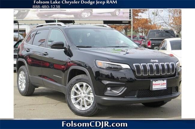New 2019 Jeep Cherokee LATITUDE 4X4 Sport Utility 1C4PJMCX8KD118546 for sale near Sacramento CA