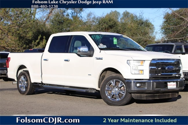 Certified Pre-Owned 2015 Ford F-150 Truck SuperCrew Cab 1FTEW1CP1FFA80448 for sale near Sacramento CA